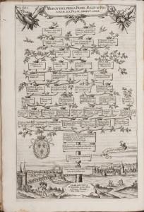 Antonio Albizzi, Principvm Christianorvm Stemmata, Augsburg, 1608, fol. I [HAB: Xb 2° 56]