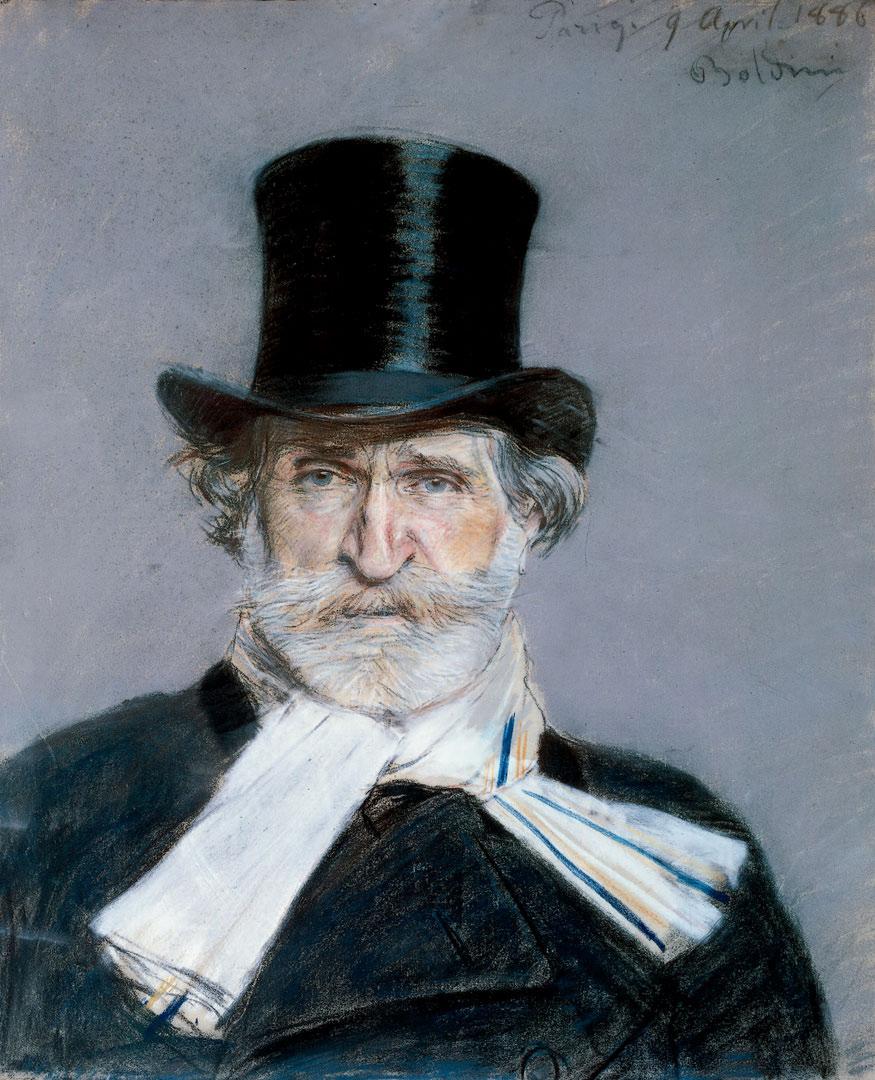 Vignette Verdi pour theatre et politique