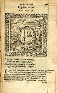 Emblemata d'André Alciat parue à Anvers en 1577