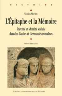Epitaphe et memoire