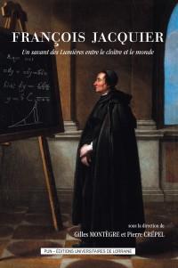 Couverture livre François Jacquier