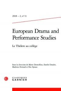 2018 – 2, n. 11 – Le Théâtre au collège