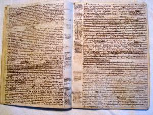 9_Pompéi, 7 novembre 1775. Extrait du 8e cahier des Éphémérides de Latapie