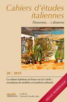 Cahiers d'études italiennes